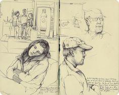 sketchbook blogs | More Sketchbook Pages from Last Week - Blog - Pat Perry