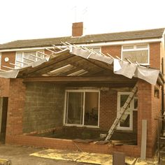 New single bifold door rear extension 47 Ideas Extension Plans, Glass Extension, Roof Extension, House Extension Design, Extension Designs, Single Storey Extension, Apex Roof, Timber Battens, Kitchen Diner Extension