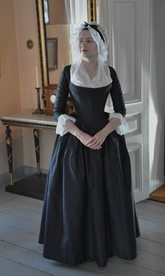 Completely Historical Round gown fashion style inspiration. Please choose vegan