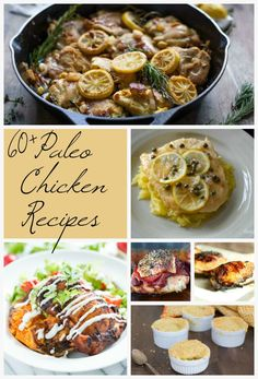 Collection of over 70 delicious Paleo Chicken Recipes!