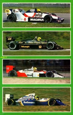 Ayrton Senna's four teams: I will always enjoy  when he was at Maclaren...