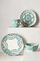 Gloriosa Dinner Plate & Bowl