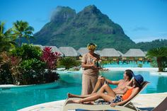 Romantic Three Island Retreat - featuring the islands of Moorea, Bora Bora and Tahaa. Custom honeymoon and vacation packages by the True Tahiti Specialists