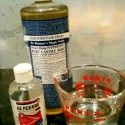 Dr bronner's body wash-  1 cup distilled or boiled water, cooled  1/4 cup Castile liquid soap,  1 tsp. Vegetable Glycerin