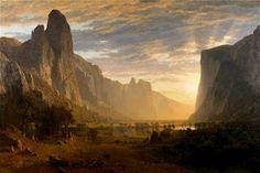 Albert Bierstadt; Yosemite Valley, Birmingham (AL) Museum of Art onelondonone