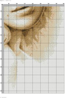 she 1 Sepia Color, Fantasy Women, Counted Cross Stitch Patterns, Cross Stitching, Quilts, Embroidery, Cross Stitch Pictures, Dots, Needlepoint
