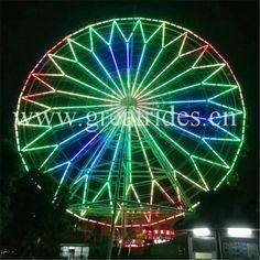 22 Best Outdoor giant ferris wheel rides images in 2019 | Big wheel