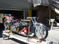 Elmer Tretts Top Fuel Bike - 225MPH Yacht, Crotch Rockets, Drag Bike, Top Fuel, Rising Sun, Bike Stuff, Car Humor, Custom Motorcycles, Drag Racing