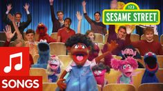Sesame Street: Raise Your Hand Song. It's a simple rule when you want to speak in school.