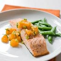 Roasted Salmon with Tangerine and Ginger Relish | The Public Kitchen | Food | KCET