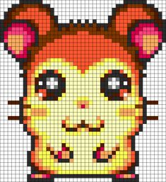Maxwell Perler Bead Pattern / Bead Sprite