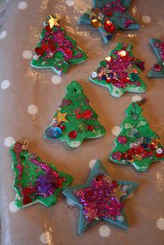 Salt Dough Decorations: Part 2 - The Imagination Tree
