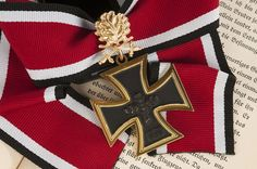 German Knights Cross of the Iron Cross with oak leaves and swords - WW II