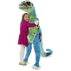 Melissa & Doug - Giant T Rex - Plush