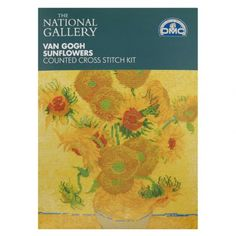 Van Gogh Sunflower Cross Stitch Kit - Cross Stitch Kits - Kits