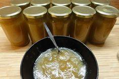 Jak uvařit jablečný džem se zázvorem z letních jablek   recept