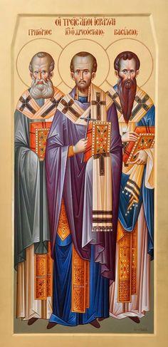 Τρεις Ιεράρχες / Three Holy Hierarchs: