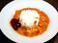 ecuadorian food Foodblogger, Fish Recipes, Allrecipes, Thai Red Curry, Ethnic Recipes, Coconut, Italy