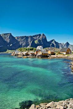 Sakrisøy (Norway), via Flickr.