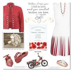 """Modern Bride: 12/02/17"" by pinky-chocolatte ❤ liked on Polyvore featuring Alaïa, Fendi, Valentino, Allurez, Sola and modern"