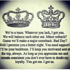 Every King Needs his Queen 2 hold him down