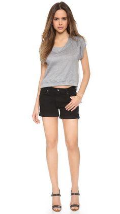 Baldwin Denim The Jones Rolled Shorts #Shopbop