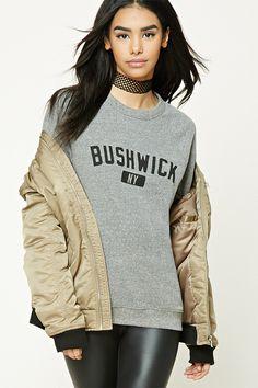Bushwick NY Graphic Sweatshirt