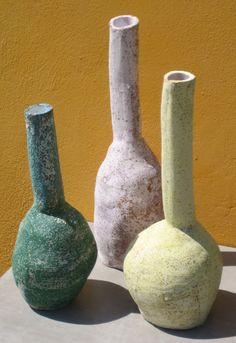 // bottles by Maria Tsantaki in Amfitriti shop
