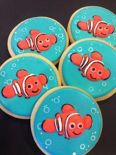Nemo and Friends Decorated Sugar Cookies (1 dozen)