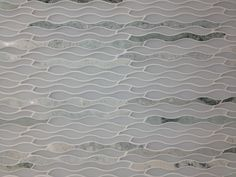 Allure Kelp Glass and Marble Tile Stone, Marble Tile, Pool Tile, Wave Glass, Fireplace Surrounds, Marble, Bath Remodel, Glass Tile, Contemporary Rug