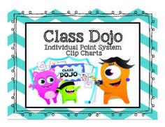 Class Dojo- Desk Clip Chart Behaviour Management, Behaviour Chart, Classroom Management, Behavior, Kindergarten Classroom, Classroom Themes, School Dojo, Classe Dojo, School Stuff