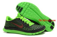 Womens #Nike #Free 3.0 V4 Anthracite Fireberry Electric Green Shoe #topfreerun3 com for  #cheap #nike #free #sneakers #discount 41%  off $48.45