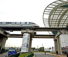 World's Fastest Trains: Shanghai Maglev Train, China Shanghai Maglev Train, Places Ive Been, Places To Go, Number Of Countries, High Speed Rail, Speed Training, World's Most Beautiful, Travel And Leisure, Train Travel