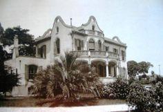 Residência de Horácio Belfort Sabino, esquina da rua Augusta com avenida Paulista, erguida por volta de 1905. No local, posteriormente, foi construido o Conjunto Nacional, inaugurado parcialmente em 1958.