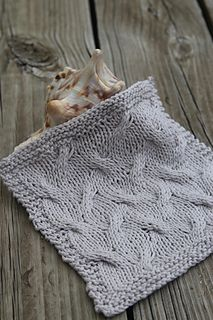 Ravelry  Silver Sands Washcloth pattern by Laura Cameron Quick Knits b7737fc79