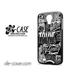 The Amity Affliction Songs DEAL-10634 Samsung Phonecase Cover For Samsung Galaxy S4 / S4 Mini