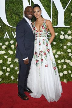 Taye Diggs, left, and Amanza Smith Brown