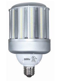 Mills 120W LED Corn Light - 400W Equal Replacement HID Retrofit Lamp - 14400 Lumens - DLC Qualified