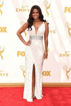 Tracey E. Edmonds LIVE FROM THE 2015 PRIMETIME EMMY AWARDS