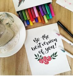 Have you joined our Inktober giveaway? Hurry for your chance to win your own set of gorgeous Dual Brush Pens and a Watercolor Pad too! See… Brush Pen Calligraphy, Brush Pen Art, Inktober, Pens, Hand Lettering, Giveaway, Typography, Watercolor, Artwork