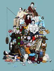 Kiersten Essenpreis Hall of Fame: Seinfeldology Print