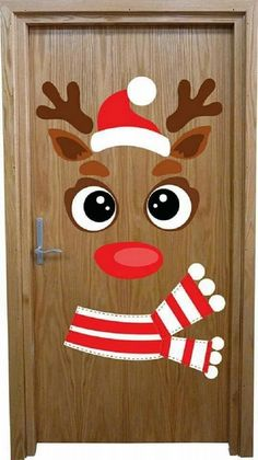 How to make super simple Christmas decorations on a budget - snowman doors # . - How to make super simple Christmas decorations on a budget – snowman doors # …, # - Christmas Door Decorating Contest, Office Christmas Decorations, Christmas Crafts For Kids, Xmas Crafts, Christmas Art, Simple Christmas, Christmas Ornaments, School Door Decorations, Christmas Classroom Door