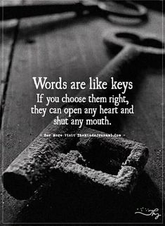 God please send me the words needed to effectively shut all my enemies mouths for all eternity, please God PLEASE! Motivacional Quotes, Quotable Quotes, Great Quotes, Quotes To Live By, Quotes About Keys, True Life Quotes, Sufi Quotes, Karma Quotes, Lesson Quotes
