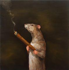 joanna braithwaite size matters oil on canvas, stretcher: 612 x 610 x 22 mm Pet Mice, Animal 2, Australian Artists, Zine, Oil On Canvas, Size Matters, Prints, Oil Paintings, Rat
