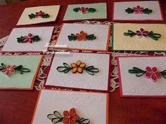 Felicitari quilling (handmade card)