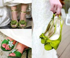 La Novia y sus zapatos de color