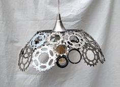 Bicycle Gears Lamp single