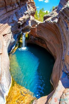 Tips for visiting Australia // Hamersley Gorge, Karijini National Park, Western Australia Is visiting Australia on a two-week vacation possible? Yes, check out these Australia travel tips and must see destinations for Australia Places Around The World, The Places Youll Go, Places To See, Around The Worlds, Visit Australia, Australia Travel, Campervan Australia, Aussie Australia, Australia Visa