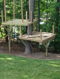 Cedar Stage Treehouse - Modern - Boston - by Living Edge Treehouses & Edible Lan. Cedar Stage Treehouse – Modern – Boston – by Living Edge Treehouses & Edible Landscapes