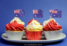 The MoM team have been out scouting the web to find you some great Australia day food and party ideas to get you excited and inspired. From Vegemite to Koala biscuits, there is something for everyone. Australia For Kids, Australia House, Australia Beach, Australia Animals, Queensland Australia, Melbourne Australia, Vanuatu, Anzac Day, Love Cupcakes